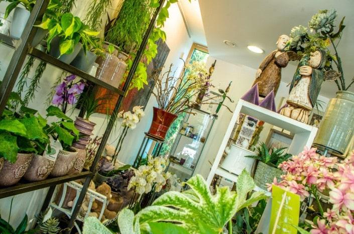 Ritos gėlių salono Prienuose interjeras