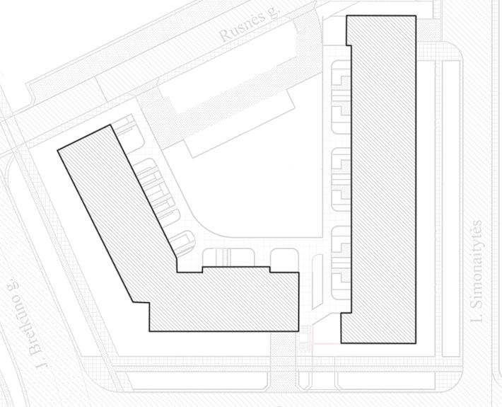 Rusnės kvartalas - teritorijos planas