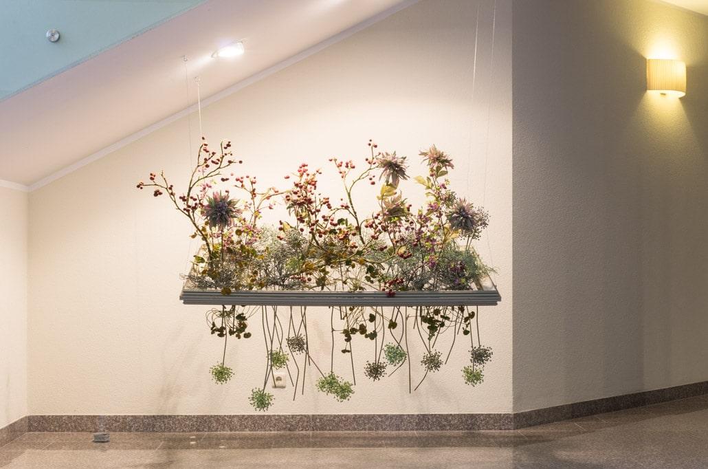 Gėlių kompozicija Eglės sanatorijoje