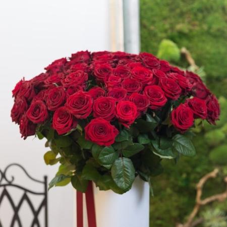 """Raudonos rožės """"Red Naomi"""""""