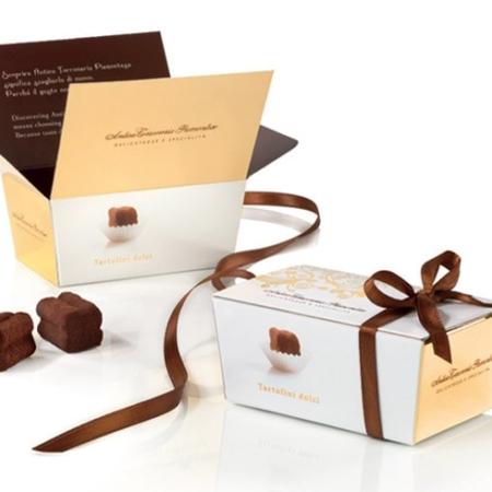 Tartufini dolci saldainių dėžutė
