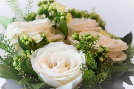 Gėlių dėžutė (iš arti)