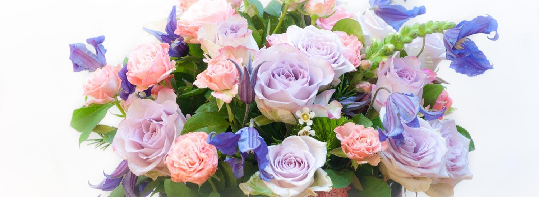 Meslvos gėlės dėžutėje