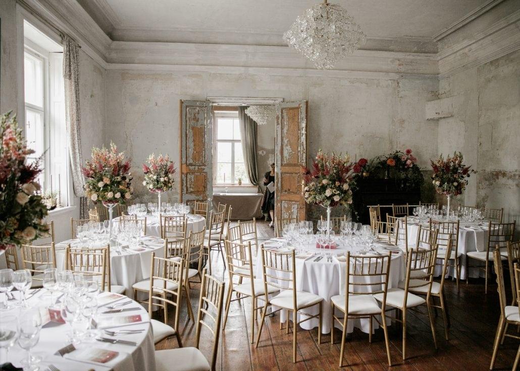 Vestuvių pokylio salė Jakiškių dvare