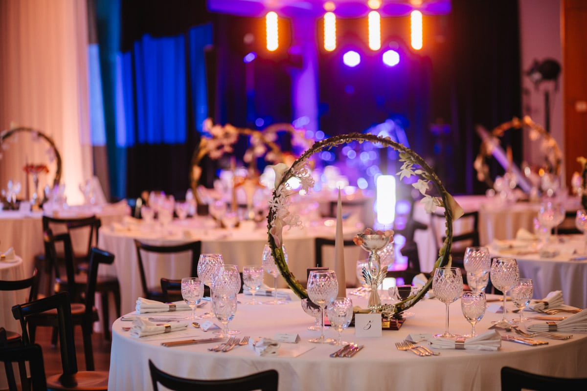 Vestuvių stalo dekoras Hotel Palanga Spa
